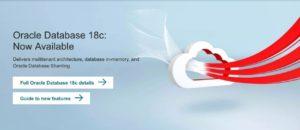 开工大吉:Oracle 18c 已经发布及新特性介绍